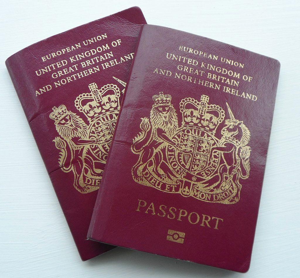 UK Passports by Karen Bryan