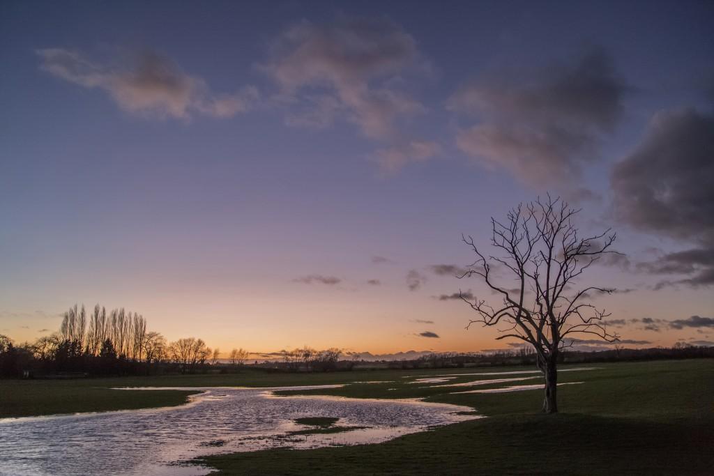 Receding Floods by Brian Tomlinson