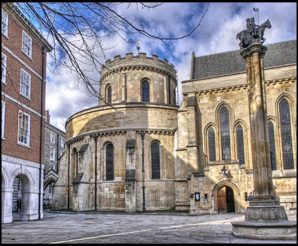 Temple Church, London by Simon Brighton