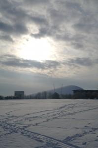 Campbell Park Snow, Milton Keynes