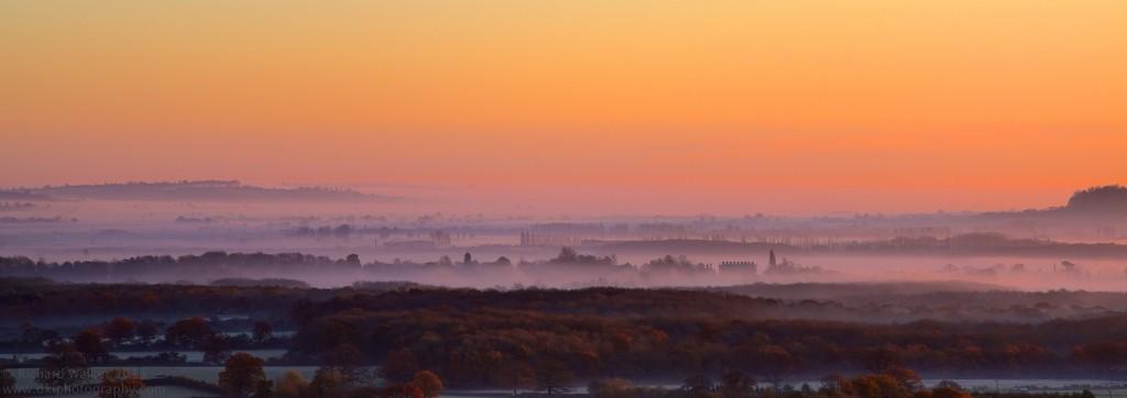 Autumn Mist by Richard Walker