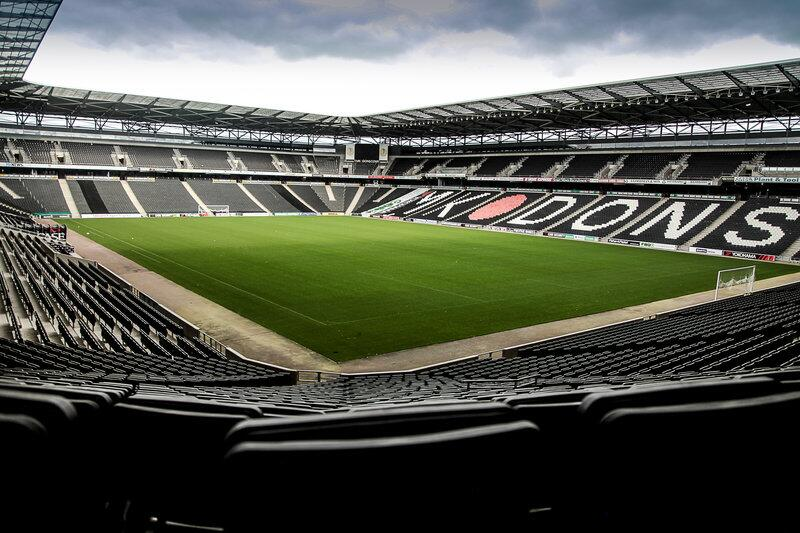 Milton Keynes will host the Rugby World Cup in 2015.