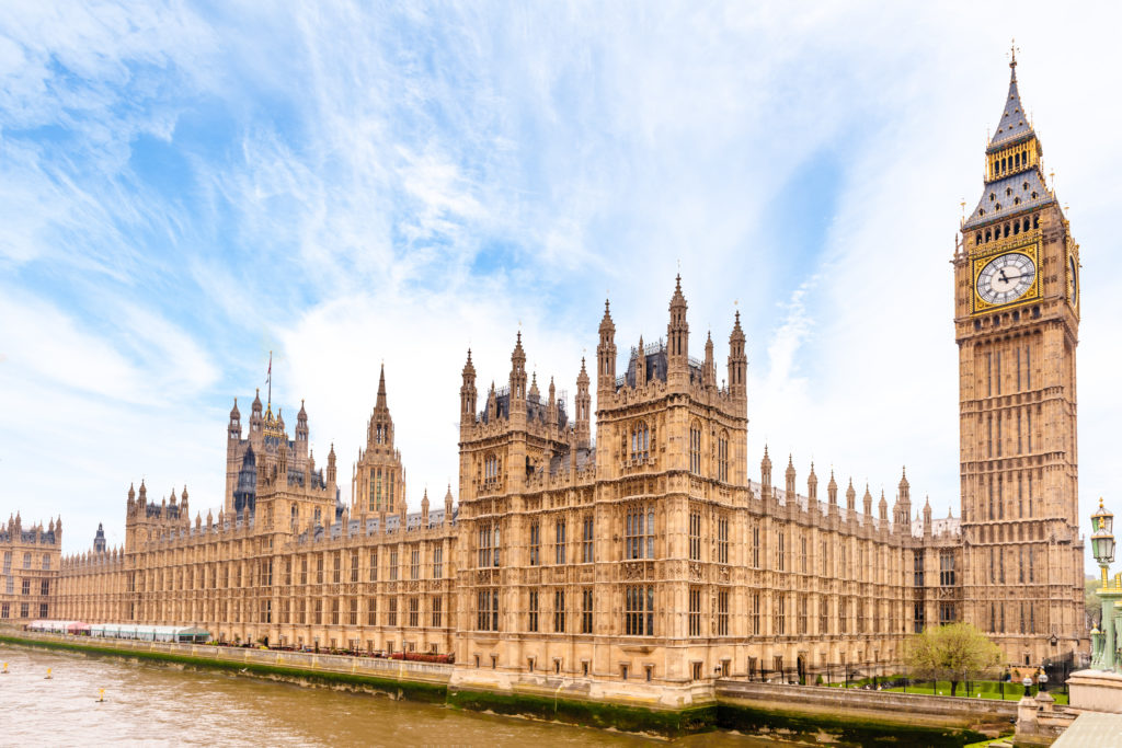 Houses of Parliament - Civil Partnerships now available to opposite sex couples in England and Wales