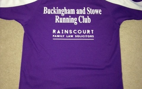 We celebrate first anniversary as sponsor of Buckingham and Stowe Running Club